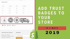 How To Add Trust Badges To Your Shopify Store In 2020