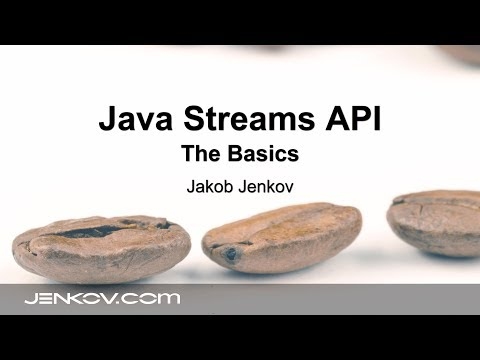 Java Streams API #1 - The Basics