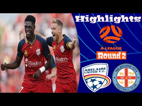 Adelaide United Melbourne City Goals And Highlights