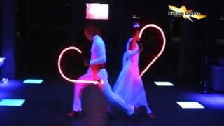 Светодиодное шоу на свадьбу Dream Light Heard(Светодиодное шоу на Вашу свадьбу. Эксклюзивный номер