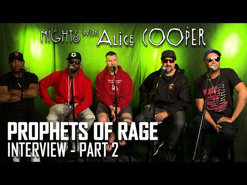 PROPHETS OF RAGE INTERVIEW - PART #2