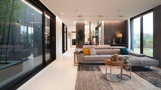 Modern style homes 이상적인 용인 타운하…