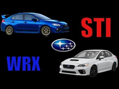 2015 - 2017 Subaru WRX vs STI Which One?!