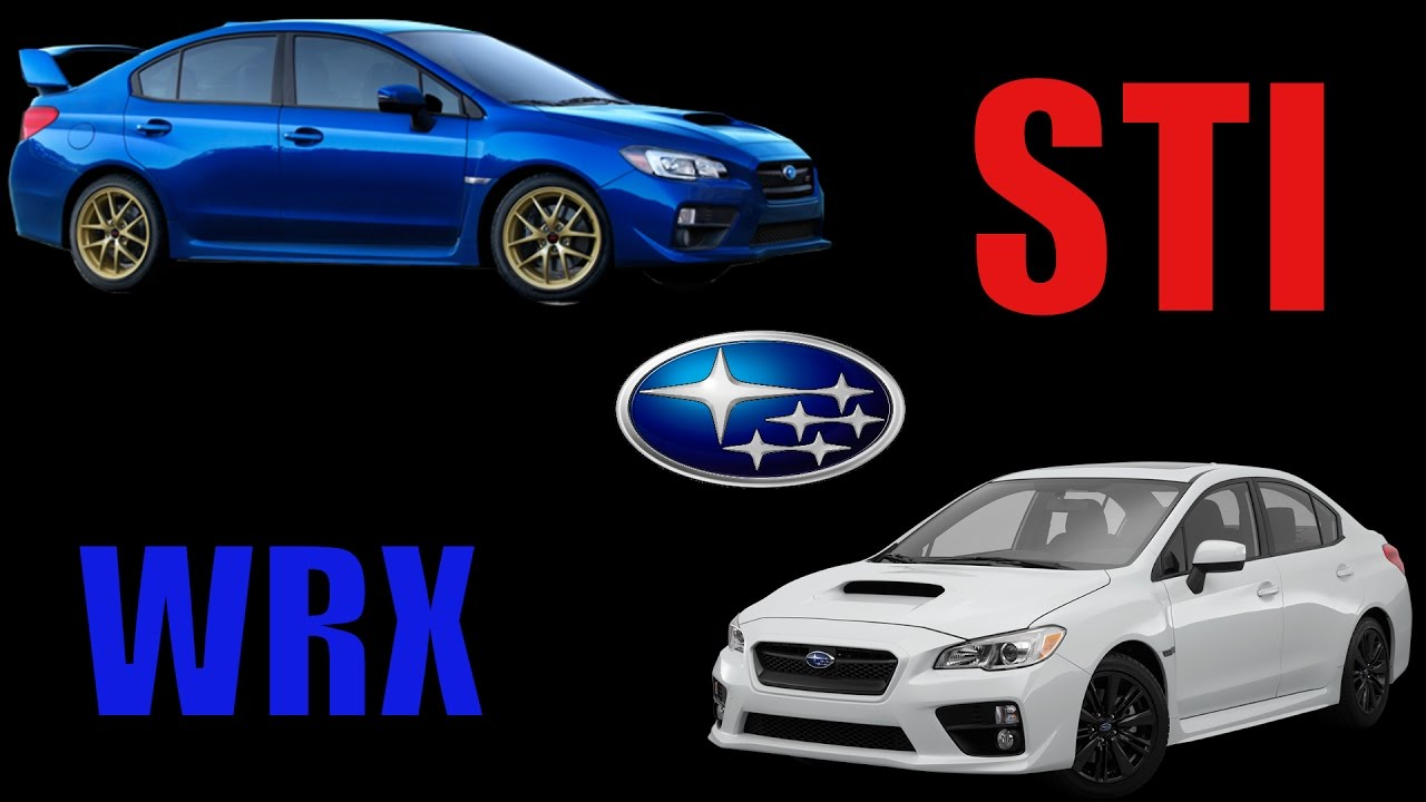 2015 2017 subaru wrx vs sti which one youtube. Black Bedroom Furniture Sets. Home Design Ideas