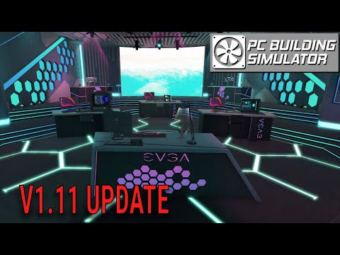 WATER-COOLED 30 Series Graphics Cards are HERE!! Version 1.11 Update | PC Building Simulator |