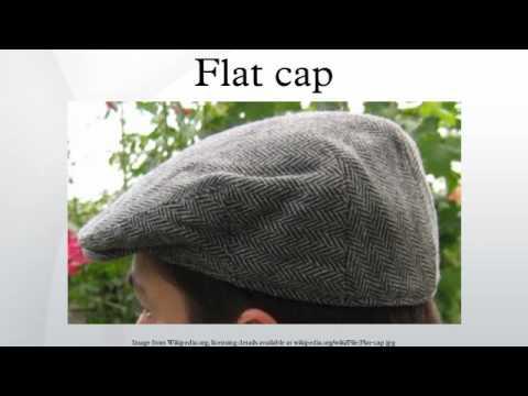 Flat cap - YouTube 6ec0907c595