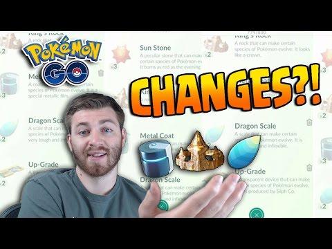 EVOLUTION ITEM CHANGES & GEN 2 EVOLUTION SPREE! - Pokemon GO Easier To Get Evolution Items?