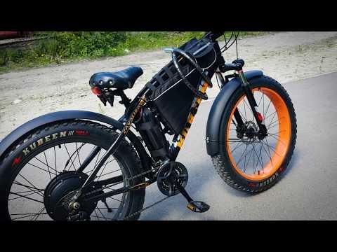 Электровелосипед (электрофэтбайк 1500W)
