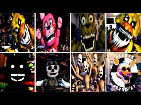 UCN ► ALL 8 SECRET ANIMATRONICS
