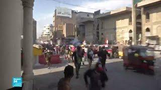 المظاهرات في العراق: مقتل 4 محتجين بنيران قوات الأمن في بغداد