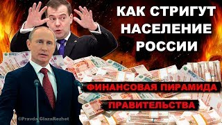 Как тебя доит Правительство, или Государственная финансовая пирамида   Pravda GlazaRezhet