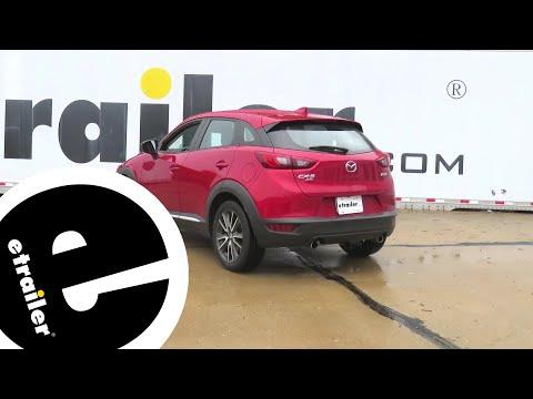 Etrailer   Curt Trailer Hitch Installation - 2017 Mazda CX-3