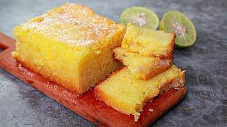Lemon Tea Cake  Eggless &amp Without Oven  Yummy  Eggless Lemon Pound Cake