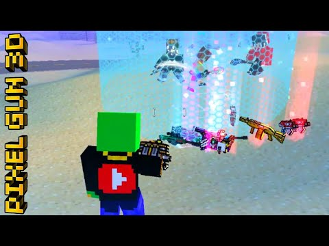 SUB TEAM VICTORY Pixel Gun 3D BATTLE ROYALE