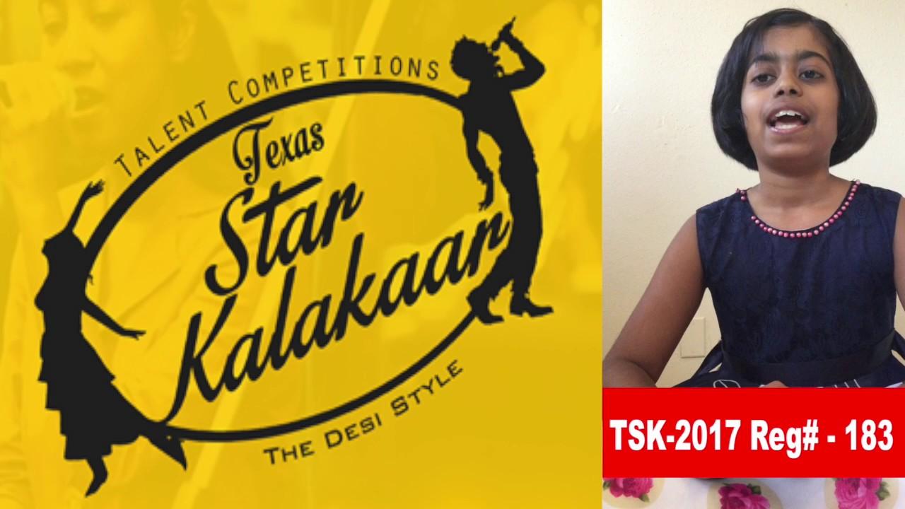 Reg# TSK2017P183 - Texas Star Kalakaar 2017