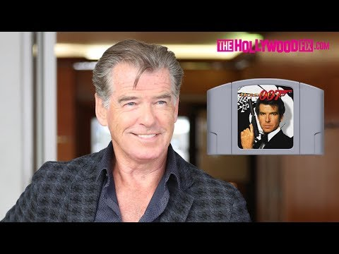 Pierce Brosnan Reminisces About Playing James Bond GoldenEye 007 On Nintendo 64 In Beverly Hills