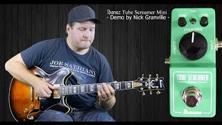 ibanez mini tubescreamer mini ts demo review