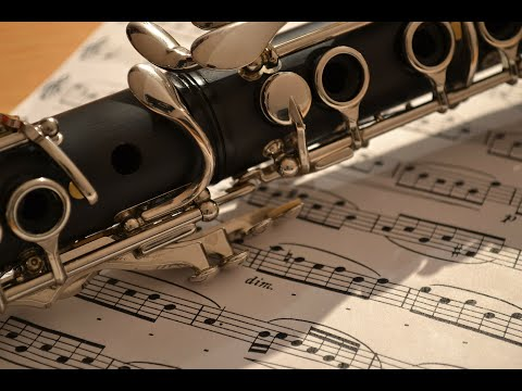 Away In A Manger - Free easy Christmas clarinet sheet music - YouTube