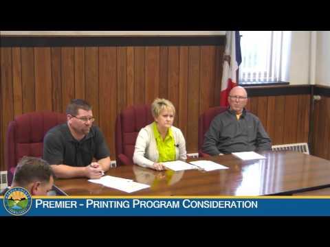 Hardin County Board of Supervisors Meeting: 1-27-2016