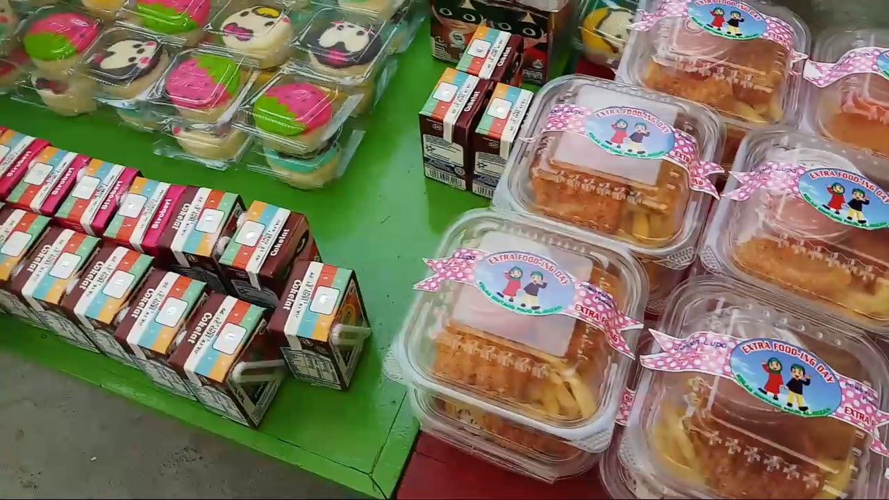 Suasanan Acara Fooding Ekstra Kelas Bintang Paud Al Mizan Kota Serang Makanan Fooding Sekolah Tk Youtube
