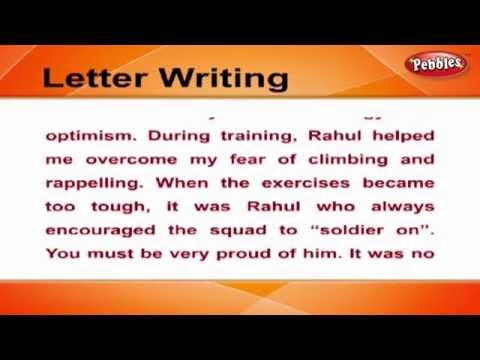 How to write Condolence Letters | Letter Writing in English | Writing Letters For Kids