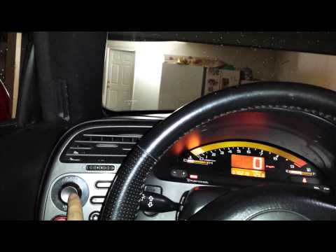 Honda S2000 Dash Controls