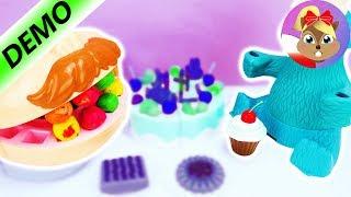 Potwór ciasteczkowy i Doktor Ząbek kłócą się o jedzenie - kto wygra? Play-Doh | Baw się ze mną