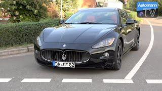 Maserati GranTurismo (405hp) - DRIVE & SOUND (60FPS)