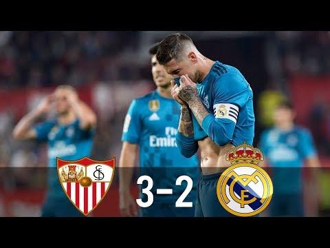 SEV vs REA 3-2 - All Goals & Extended Highlights - La Liga 09/05/2018 HD