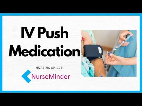 IV Push (Direct IV) Medication Administration for Nurses