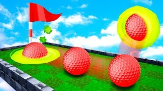Beat The ENDLESS TROLL To Win! - Golf It