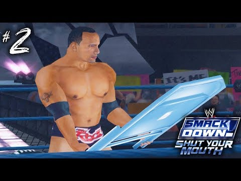 THE ROCK SNAPS!!   WWE Smackdown Shut Your Mouth (Season Mode)