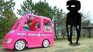 Barbie car Camping adventure Mine Craft バービー カー マイクラ大冒険 おゆうぎ こうくんねみちゃん