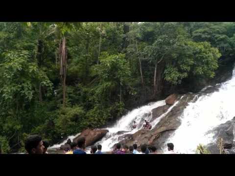 Kasargod dharmathadka water fall