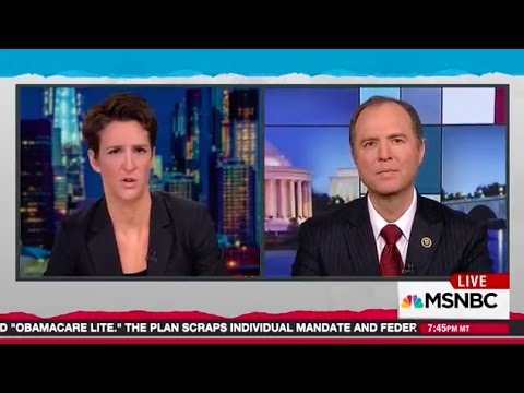 Rep. Schiff on MSNBC: House Intel Committee Should Interview Christopher Steele