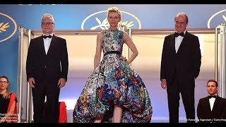 Léa Seydoux & Cate Blanchett At Cannes 2018 Red Carpet Day 3