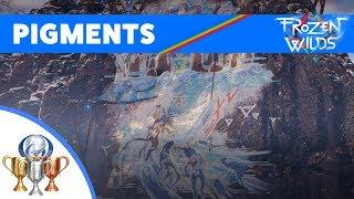 Horizon Zero Dawn: The Frozen Wilds - All Pigment Locations