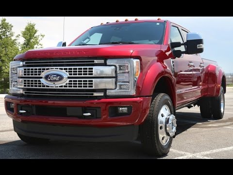 watch 2017 ford f250 super duty king ranch exterior and interior 2016 la auto show youtube. Black Bedroom Furniture Sets. Home Design Ideas
