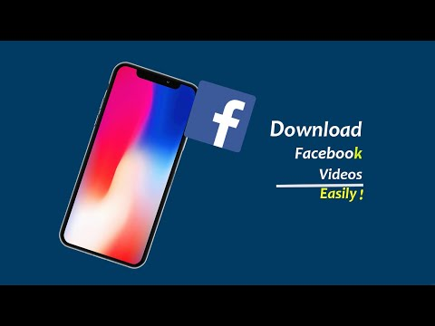 How to Download Facebook Videos on iPhone Easily
