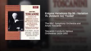 Enigma Variations Op.36 - Variation VI. (Andanti no)