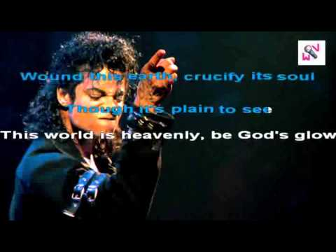 Michael Jackson  Heal the World Karaoke