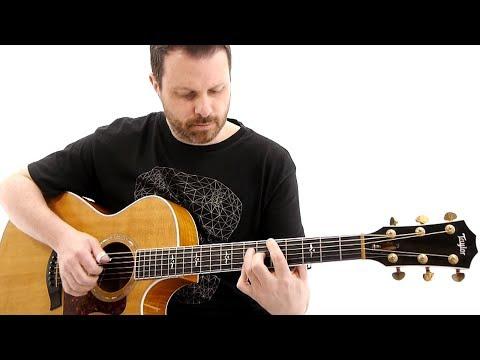 Almeno tu nell'universo by Alberto Lombardi on acoustic fingerstyle guitar