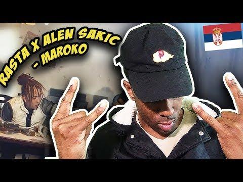 BALKAN RAP REACTION |Rasta x Alen Sakic – Maroko (Official Video)