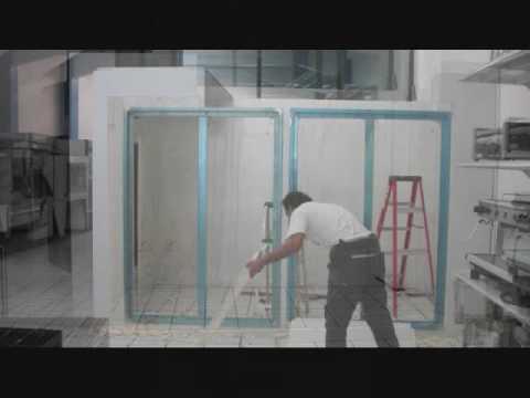 Cuarto frio youtube - Como pintar puertas de sapeli ...