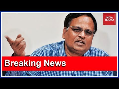 AAP Mantri Satyendar Jain Claims CBI Raid On Residence