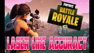 How To Get Laser Like Accuracy On Fortnite on Console (Fornite Battle Royal Tips and Tricks)