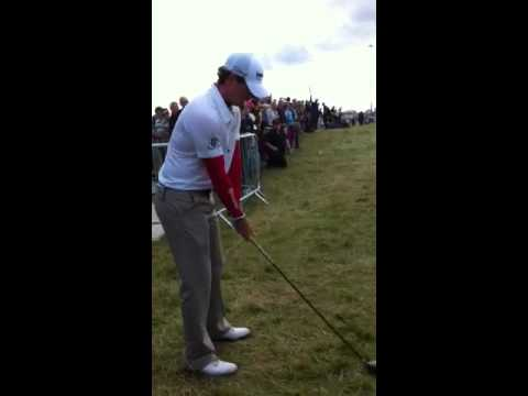 Rory McIlroy on Day One @ Royal Portrush