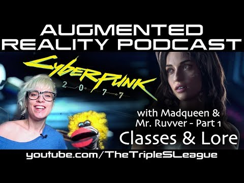Cyberpunk 2077 Lore, Character Classes & Original Source Leaks with Madqueen Show & Mr. Ruvver