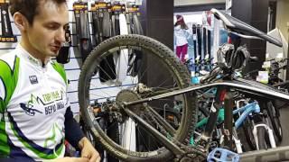 Замена велосипедной цепи(Если Вы не уверены в своих силах по ремонту велосипеда, то советуем Вам обратиться в наш велосипедный серви..., 2016-06-09T00:32:19.000Z)