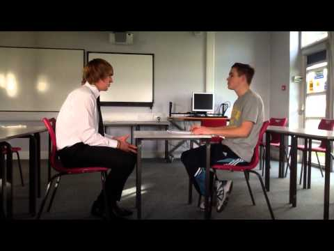 P3 work experience unit Tom Bailey interview techniques.